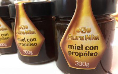 Miel con propóleo de Tenerife